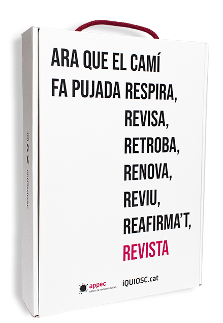 Capsa regal de revistes en català